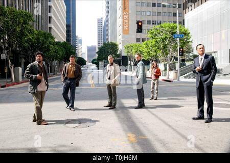 INCEPTION, DILEEP RAO, TOM HARDY, JOSEPH GORDON-LEVITT, LEONARDO DICAPRIO, ELLEN PAGE , KEN WATANABE, 2010 - Stock Photo