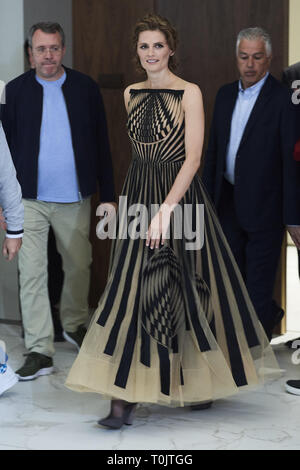 Madrid, Madrid, Spain. 20th Mar, 2019. Stana Katic attends 'Absentia' photocall at Espacio Beatriz on March 20, 2019 in Madrid, Spain Credit: Jack Abuin/ZUMA Wire/Alamy Live News - Stock Photo