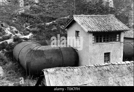 geography / travel, China, science, windtunnel of the Tsinghua University Aeronautical Research Institute, Bailongtan, Yunnan, Additional-Rights-Clearance-Info-Not-Available - Stock Photo