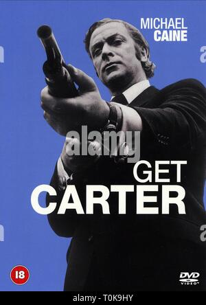 MICHAEL CAINE POSTER, GET CARTER, 1971 - Stock Photo