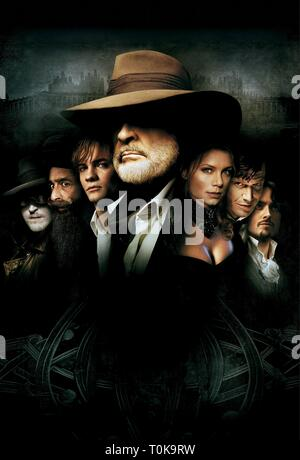 THE LEAGUE OF EXTRAORDINARY GENTLEMEN, TONY CURRAN, NASEERUDDIN SHAH, SHANE WEST, SEAN CONNERY, PETA WILSON, JASON FLEMYNG , STUART TOWNSEND, 2003 - Stock Photo