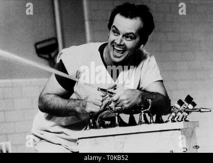 JACK NICHOLSON, ONE FLEW OVER THE CUCKOO'S NEST, 1975 - Stock Photo