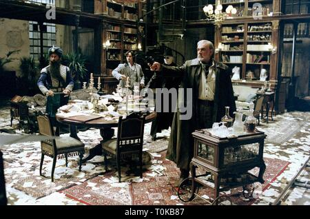 THE LEAGUE OF EXTRAORDINARY GENTLEMEN, NASEERUDDIN SHAH, STUART TOWNSEND, TONY CURRAN , SEAN CONNERY, 2003 - Stock Photo