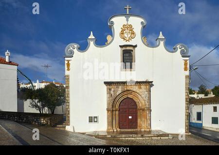Igreja de Nossa Church Senhora da Conceição, Faro, Algarve, Portugal - Stock Photo