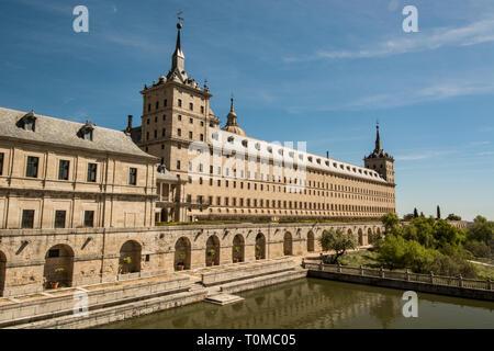 El Escorial Madrid - Stock Photo