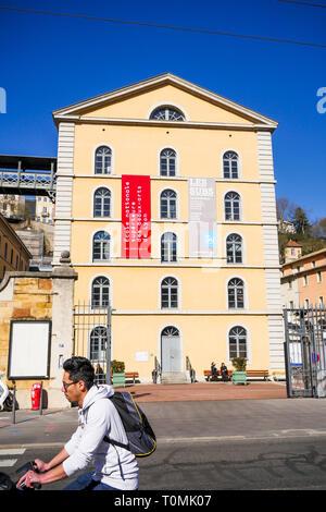 Les Subsistances Cultural Center, Lyon, France - Stock Photo