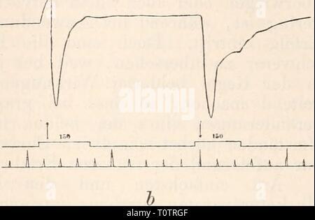 Elektrophysiologie (1895) Elektrophysiologie  elektrophysiolog00bied Year: 1895 - Stock Photo