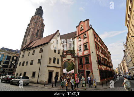 Wroclaw Old Town, Poland - Stock Photo