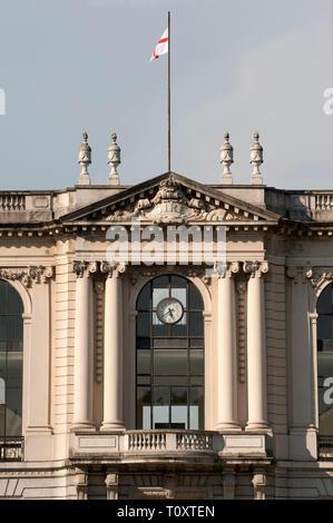 Italy, Lombardy, Milan, San Siro Racecourse building facade - Stock Photo