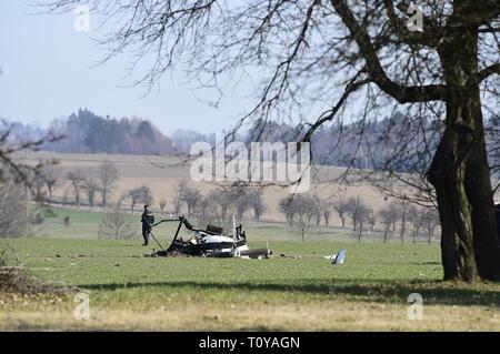 Slavonov, Czech Republic  22nd Mar, 2019  Two people died in