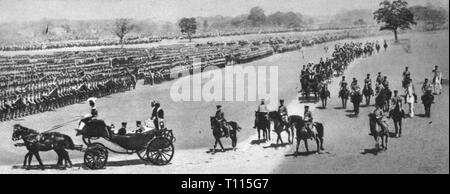 Russo-Japanese War 1904 - 1905, victory parade of the Japanese troops, Aoyama, 30.4.1906, arrival of Emperor Meiji, Russo - Japanese, soldiers, soldier, army, armies, parades, military parade, military, coach, carriage, coaches, carriages, empires, Japan, Japanese empire, 20th century, 1900s, war, wars, emperor, emperors, historic, historical, people, Additional-Rights-Clearance-Info-Not-Available - Stock Photo