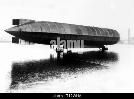Vickers Rigid Airship No 1 - Stock Photo