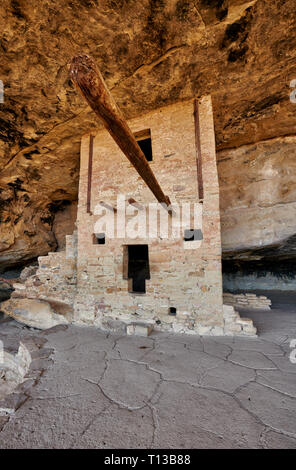 Balcony House, Cliff dwellings in Mesa-Verde-National Park, UNESCO world heritage site, Colorado, USA, North America