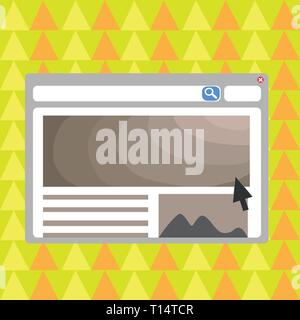 Blank Template of Pastel Colorful Website Layout Design for Homepage Format Business Empty template for Layout for invitation greeting card promotion  - Stock Photo