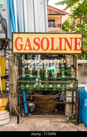 A typical scene in Karon Phuket Thailand - Stock Photo