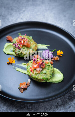 Pea Fritter Flowers - Stock Photo