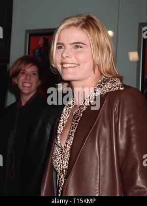 LOS ANGELES, CA. December 06, 1997: Actress Mariel Hemingway  at world premiere of her new movie, 'Deconstructing Harry' in Century City, Los Angeles.  The movie was directed by & stars Woody Allen. - Stock Photo