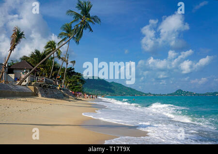 Lamai Beach on Koh Samui, Gulf of Thailand, Thailand
