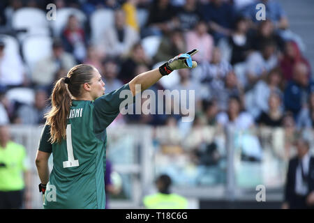 Turin, Italy. 24th Mar, 2019. soccer, Serie A FEMALE Championship 2018-19 JUVENTUS - FIORENTINA 1-0 in the picture: GIULIANI Credit: Independent Photo Agency/Alamy Live News - Stock Photo