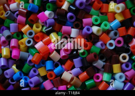 colourful beads - Stock Photo