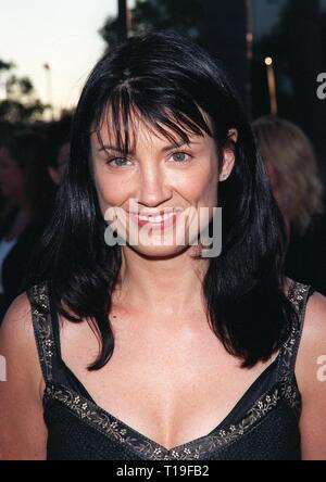 LOS ANGELES, CA - July 30, 1998:  Singer MEREDITH BROOKS at the Hollywood premiere of 'Snake Eyes.' - Stock Photo