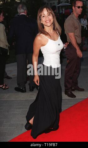 LOS ANGELES, CA - July 30, 1998:  Actress ROSIE PEREZ at the Hollywood premiere of 'Snake Eyes.' - Stock Photo