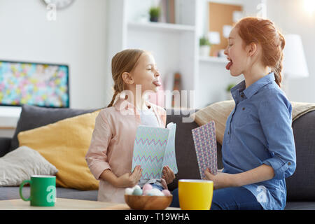 Cheeky Sisters - Stock Photo