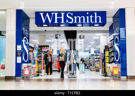 WH Smith store, UK.