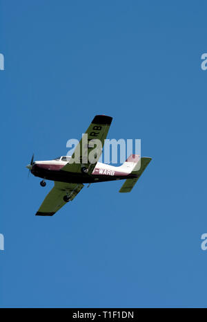 Piper PA-28-161 Warrior III (G-WARB) at Wellesbourne Airfield, Warwickshire, UK - Stock Photo