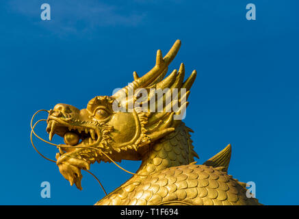 A typical view in Phuket Town Thailand - Stock Photo