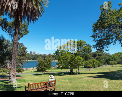 The Royal Botanic Garden, Sydney, Australia - Stock Photo
