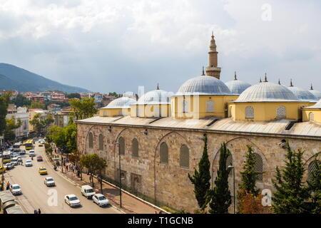 Ulu Cami Mosque, Bursa, Turkey - Stock Photo