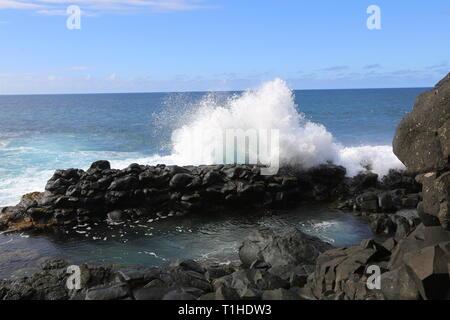 Crashing Waves - Stock Photo