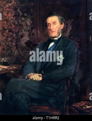 Anthony Ashley-Cooper, Seventh Earl of Shaftesbury, 1877. By Sir John Everett Millais (1829-1896). Anthony Ashley-Cooper, Seventh Earl of Shaftesbury (1801-1885), English politician, philanthropist and social reformer. - Stock Photo