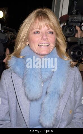 LOS ANGELES, CA. November 30, 1999:   Former model Cheryl Tiegs at the Los Angeles premiere of 'A Map of the World' which stars Sigourney Weaver & Julianne Moore. © Paul Smith / Featureflash - Stock Photo