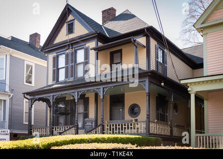 Birth home of Dr. Martin Luther King, Jr. on Auburn Avenue in Atlanta, Georgia. (USA) Stock Photo
