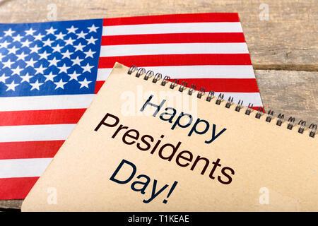 Presidents day USA - Stock Photo
