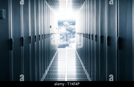 The data center - Stock Photo
