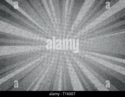 Abstract sun burst white gray color circle pattern texture design background. You can use for sales poster, promotion ad, artwork of text, cover desig - Stock Photo
