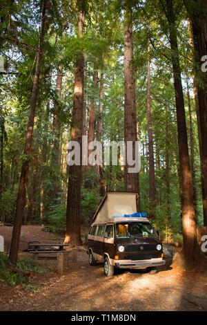 Northern California road trip - Stock Photo