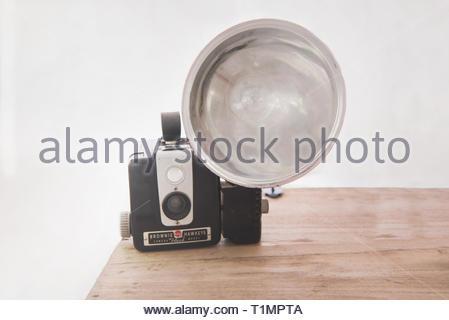 Vintage Kodak Camera - Stock Photo