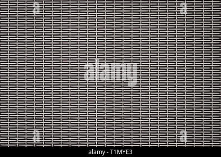 gray texture of fine metal mesh - Stock Photo