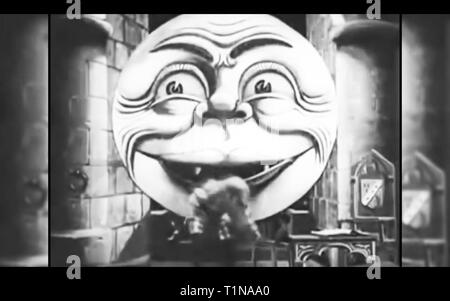 The Man in the moon - Stock Photo
