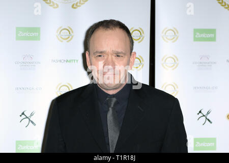 London, UK. 27th Mar 2019. Todd Carty, National Film Awards 2019, Porchester Hall, London, UK. 27th Mar, 2019. Photo by Richard Goldschmidt Credit: Rich Gold/Alamy Live News - Stock Photo