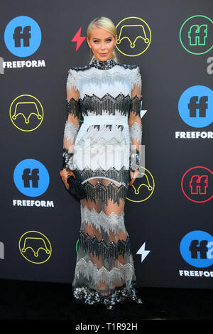 March 27, 2019 - Los Angeles, CA, USA - LOS ANGELES - MAR 27:  Gigi Gorgeous at the 2nd Annual Freeform Summit at the Goya Studios on March 27, 2019 in Los Angeles, CA (Credit Image: © Kay Blake/ZUMA Wire) - Stock Photo