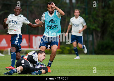 SP - Sao Paulo - 03/28/2019 - Training of Sao Paulo Photo: Marcello Zambrana / AGIF - Stock Photo
