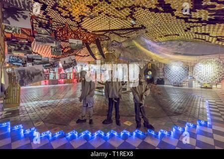 Exhibit at the Chernobyl Museum in Kiev, Ukraine. - Stock Photo