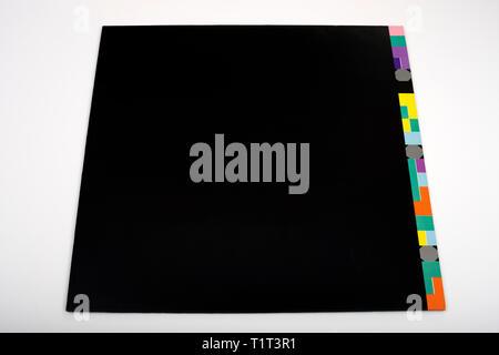 New Order Blue Monday 12 inch vinyl single - Stock Photo