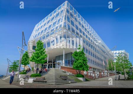 Unilever-Haus, Strandkai, Hafencity, Hamburg, Deutschland - Stock Photo