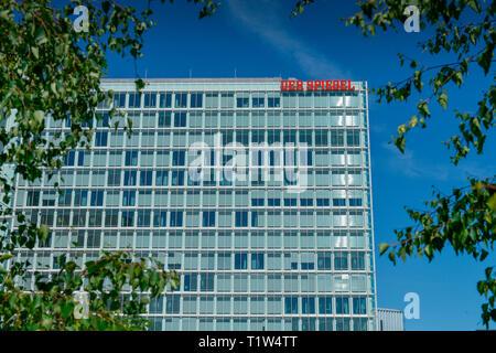Spiegel-Verlag, Ericusspitze, Hafencity, Hamburg, Deutschland - Stock Photo